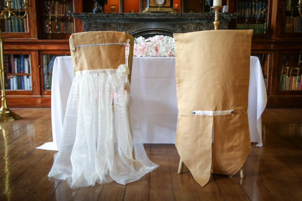 Bespoke Accessory Creation Service - wedding chair dressing