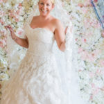 Picture perfect bride -making memories