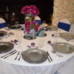 White sequinned table cloth from the Fabulous Functions UK | Swindon