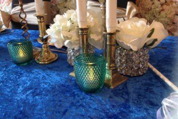 Crushed Velvet Table Linen   Fabulous Functions UK   Miscellaneous Treats