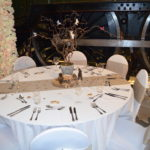 Woodland themed centrepiece | Fabulous Functions UK