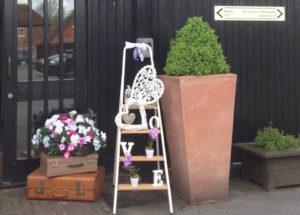 Decorative ladder-Accessory-hire-Fabulous Functions UK