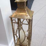 Gold toned lanterns