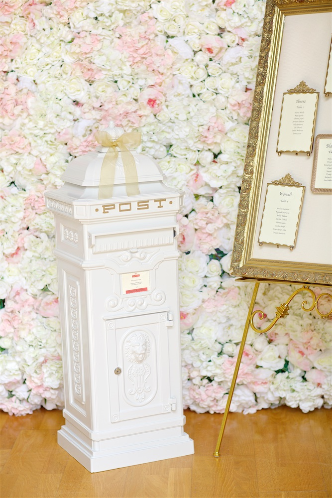 Wedding Card Post Boxes -Post box available for hire from Fabulous Functions UK