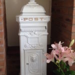 Replica Victorian Post Box for greeting cards for hire