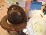Vintage globe- accessory Hire - fabulous functions uk