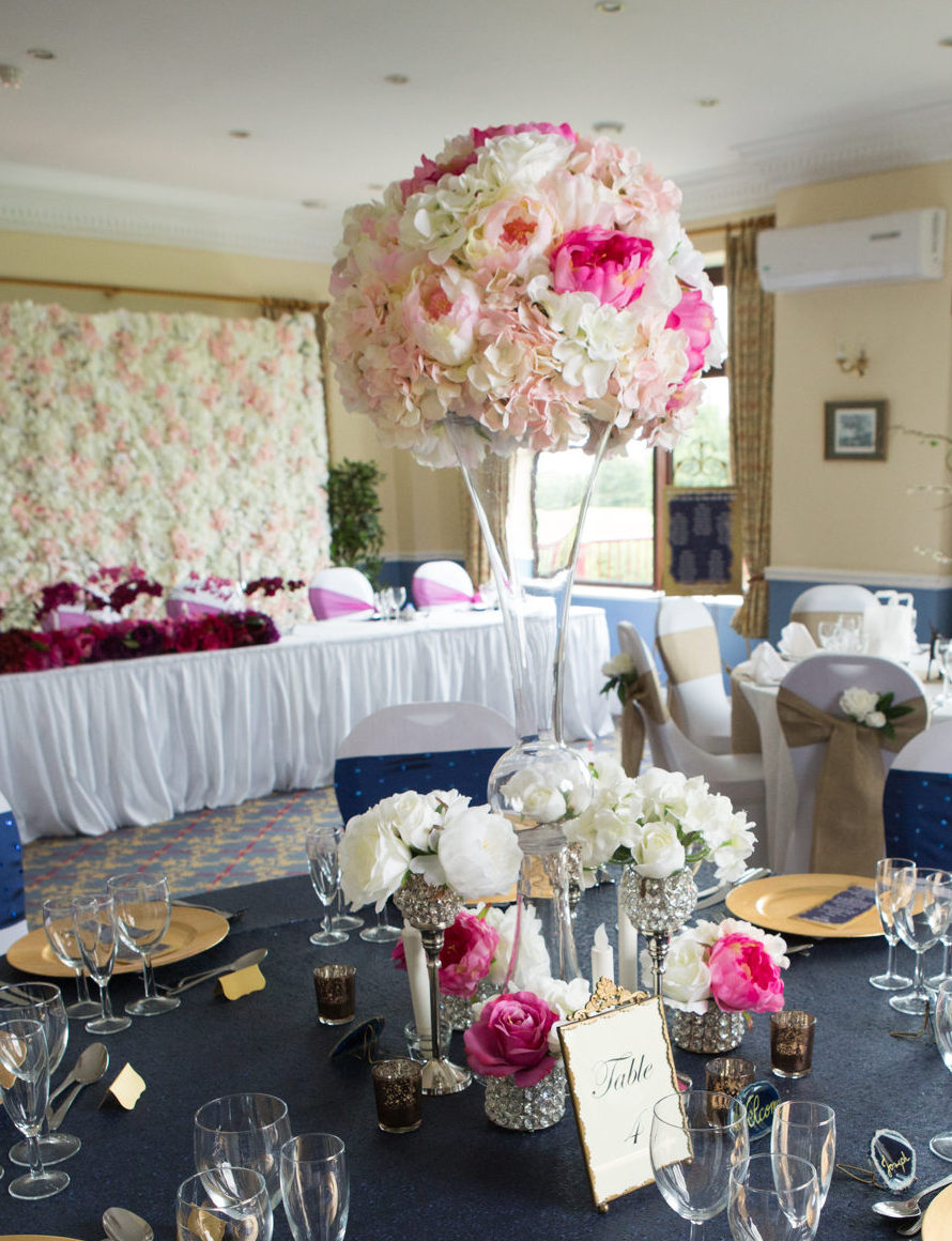 Tall Vase Table Centrepieces Fabulous Functions Uk London Wiltshire