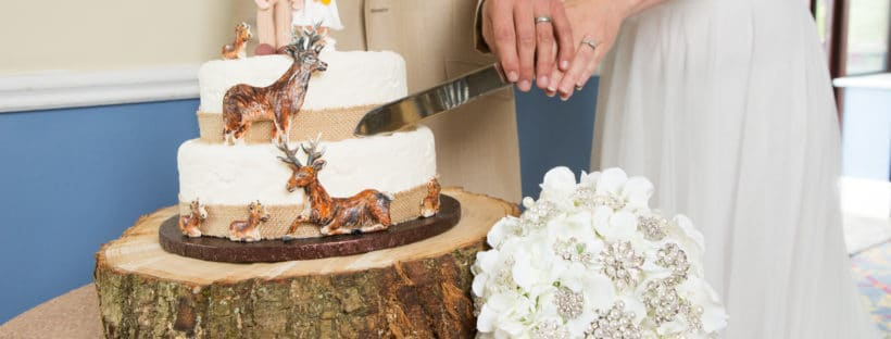 Tips for displaying your wedding cake