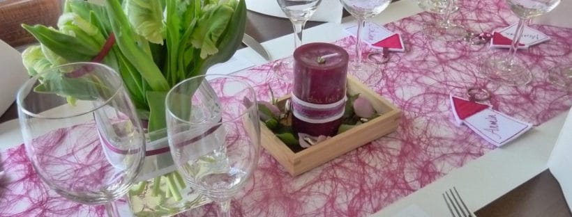 Table decortaions can transform your decor