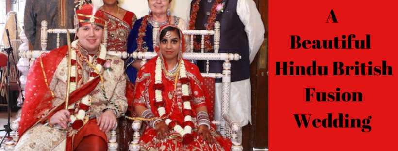 A beautiful Hindu British Fusion Wedding