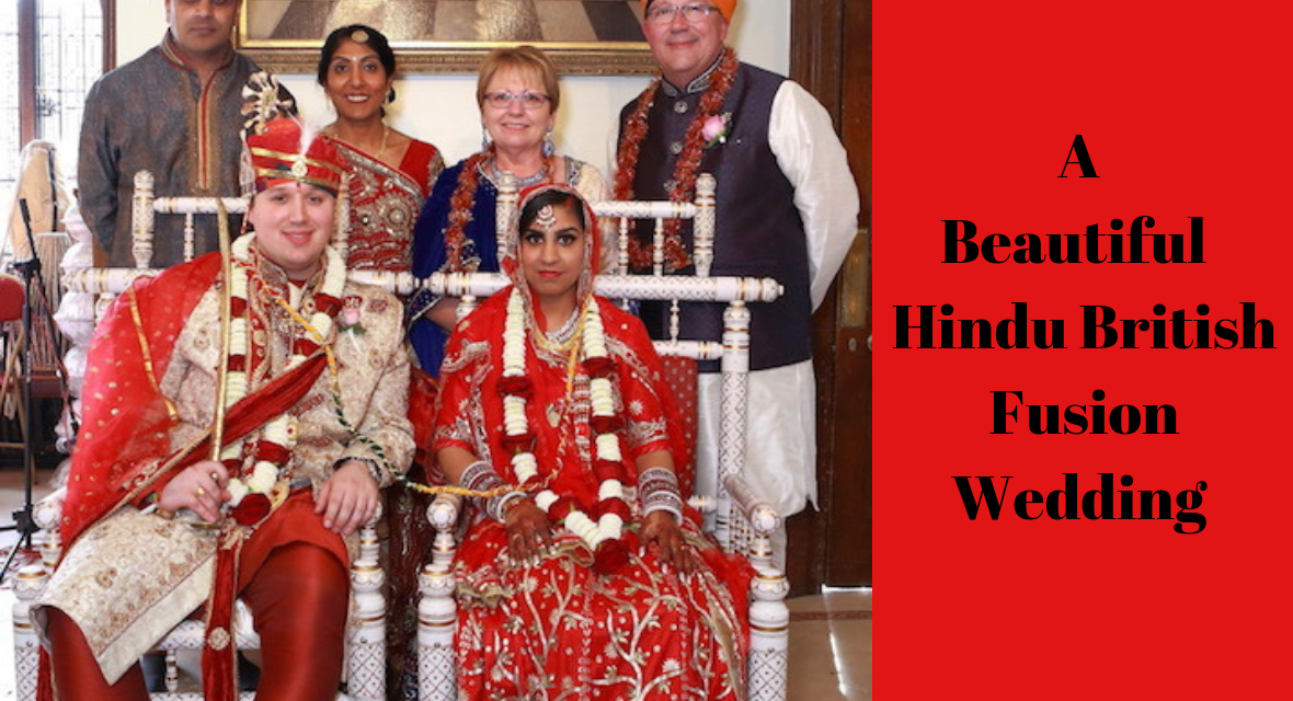 A HINDU AND BRITISH FUSION WEDDING - multi cultural weddings