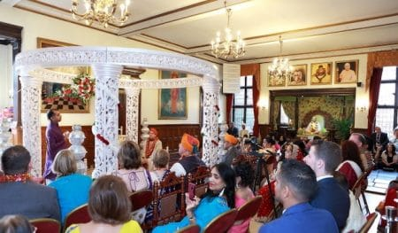 Multi cultural wedding ceremony