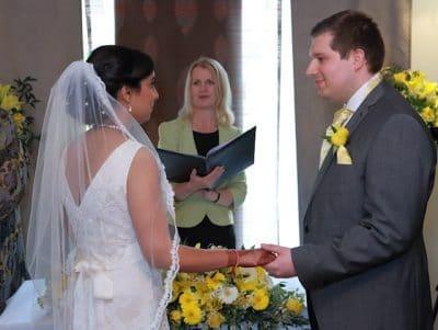 Sonam and Will's British ceremony