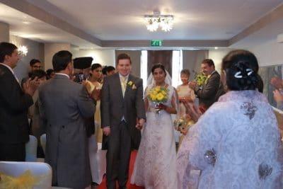 British- Hindu multi-cultual wedding