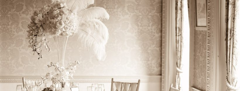 20s era vintage venue styling from Fabulous Functions UK