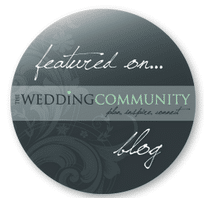 Featured on Wedding Community