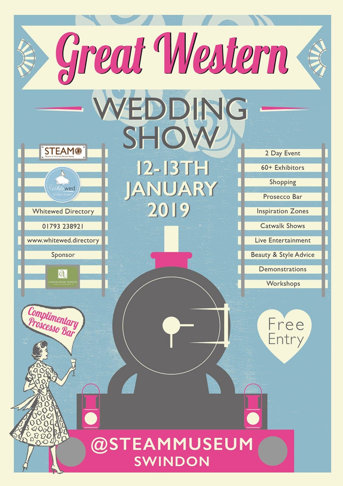 Steam Museum wedding show suppliers