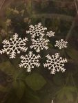 3D printed snow flakes by SD Developments