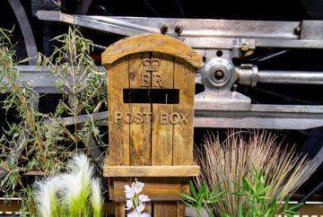 Rustic Vintage Post Box-Fabulous Functions UK
