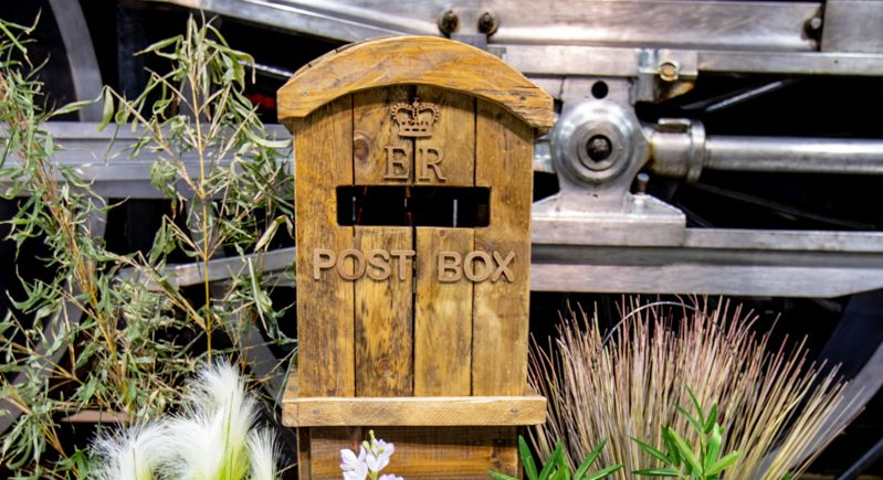 Rustic Vintage Post Box-Fabulous Functions UK