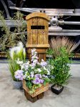 Rustic wooden post box - Fabulous Functions UK