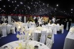 Winter Themed Wedding Marquee setup by Fabulous Functions UK