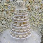 Floating cake stand with cupcakes-Fabulous Functions