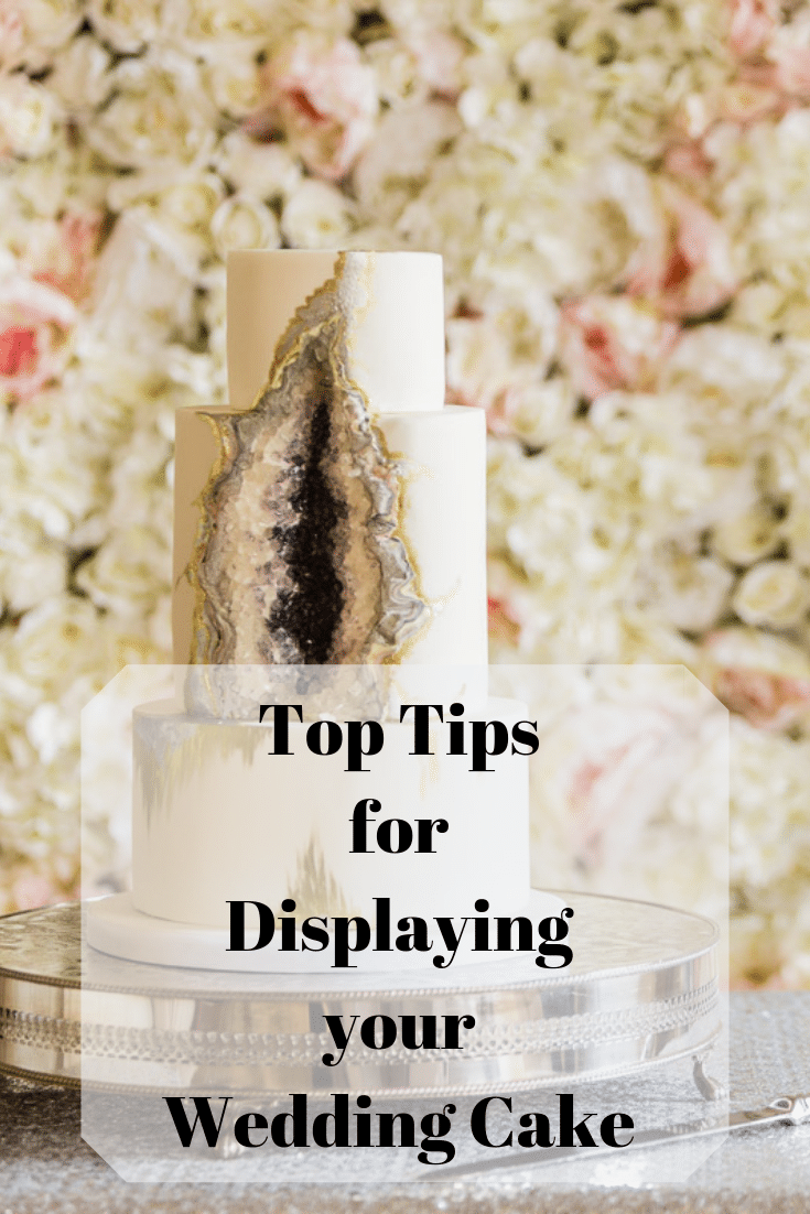 Read our blog of the top tips or Do's and Don'ts for displaying your wedding cake. Fabulous Functions UK has some great ideas for you to think about.