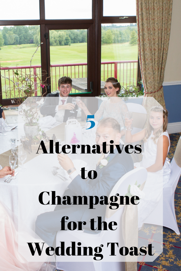 Blog-5 Alternatives to Champagne for your wedding toast - Fabulous Functions UK