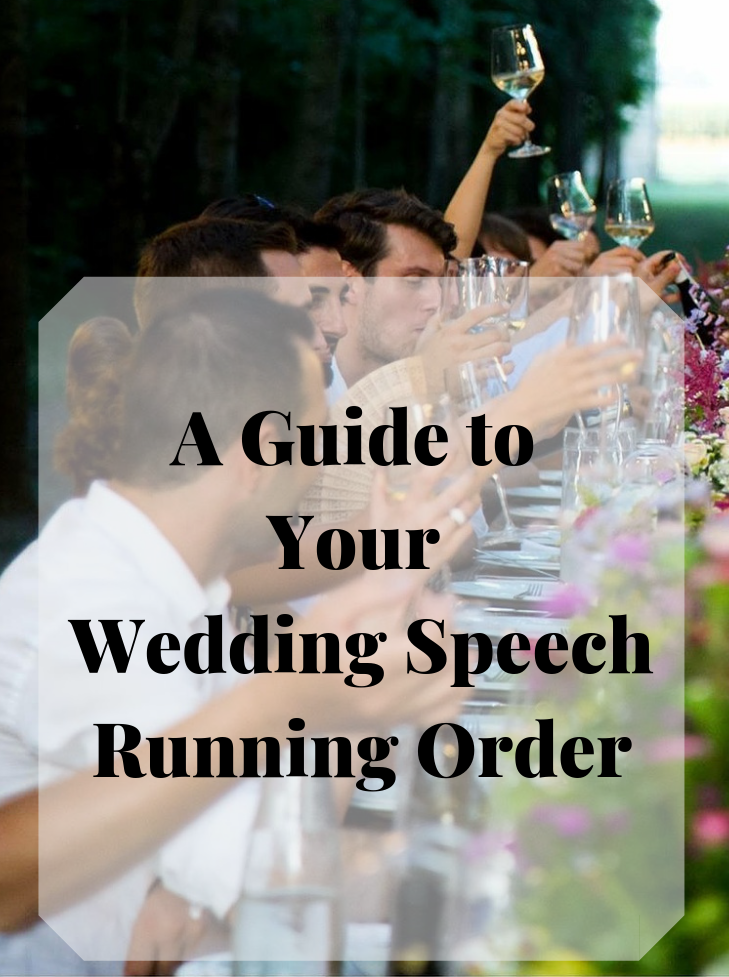 Who goes first when making wedding speeches? Here is your guide to the speech making running order -Fabulous Functions UK