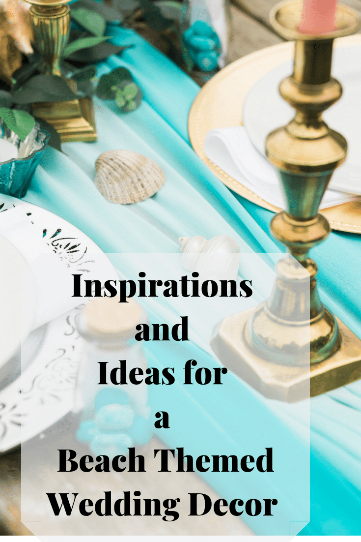 Ideas and inspirations for an outdoor or beach themed wedding decor from Fabulous Functions UK