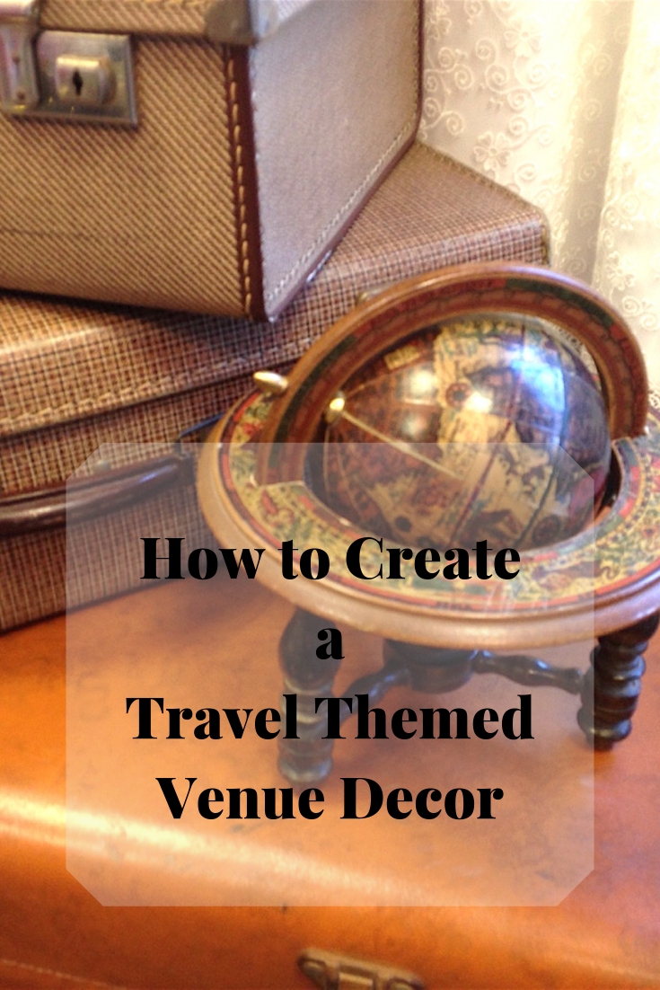 Travel around the world with your travel themed venue decor- The team at Fabulous Functions UK can help you to create a fabulous themed decoration to transport you and your guests to marvellous locations.
