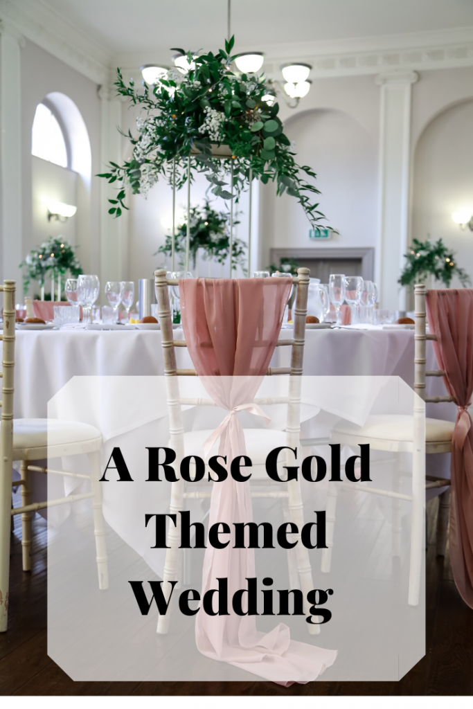 Memories of a beautiful rose gold themed wedding day- Fabulous Functions UK