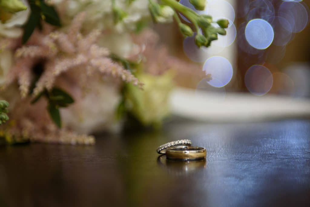 Wedding rings photography of Steffen Milsom Photography