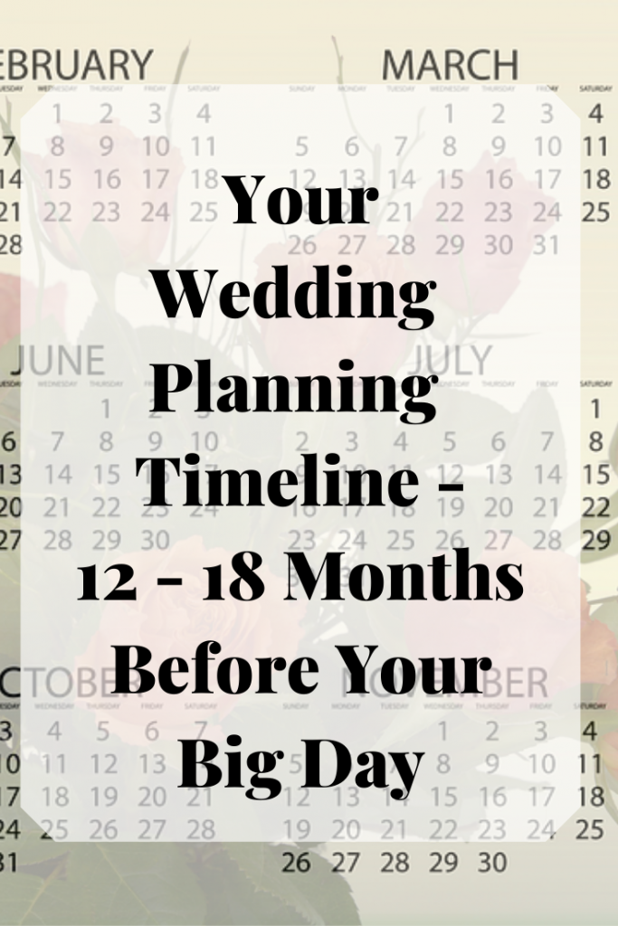 Wedding Planning Timeline- things to do 12 to 18 months before your wedding day- Fabulous Functions UK