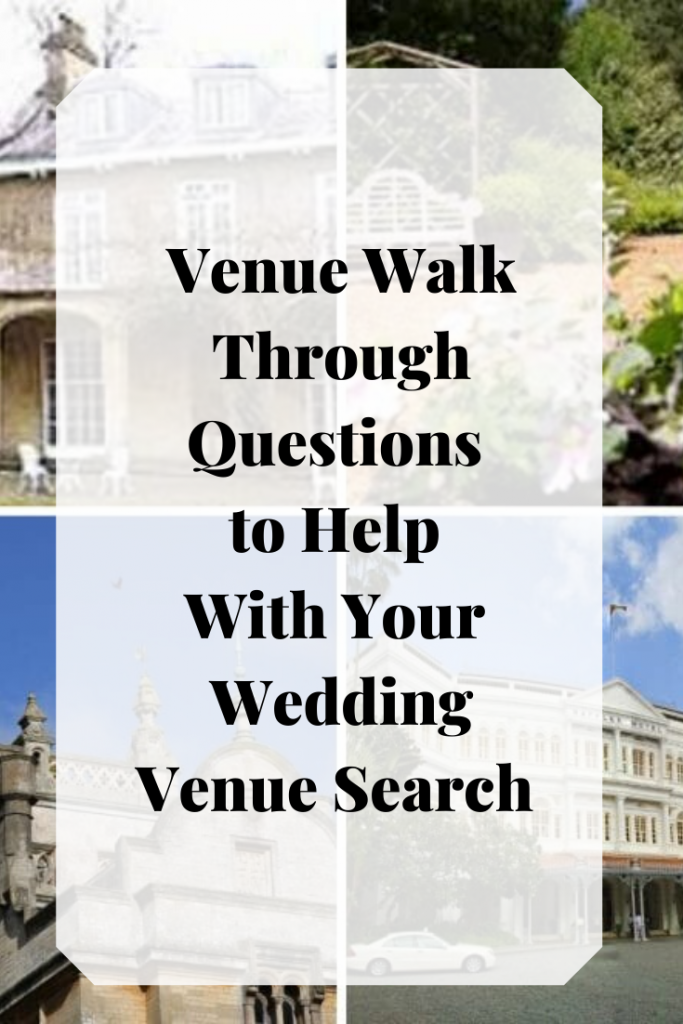 Wedding Venue Walk through Questions - A helpful list of questions to ask doing your wedding venue search - Fabulous Functions UK
