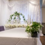 Starlight backdrop wedding decor accessory hire from Fabulous Functions UK