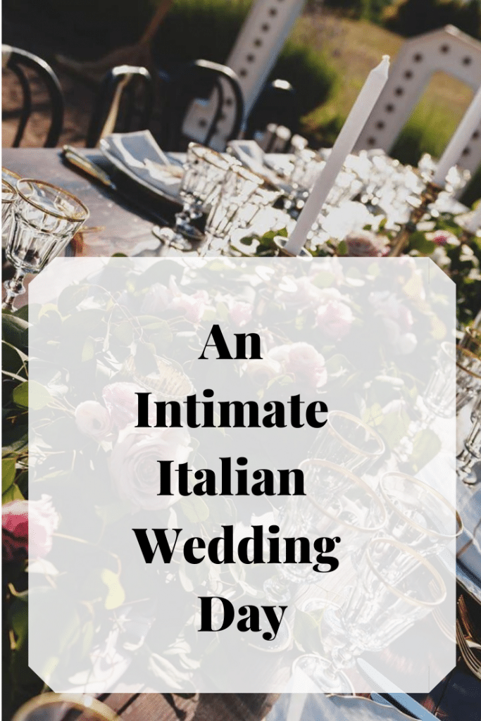 A bride and groom chose to have an intimate destination wedding in Italy instead of a big wedding at home. Visit our blot to get the low down.