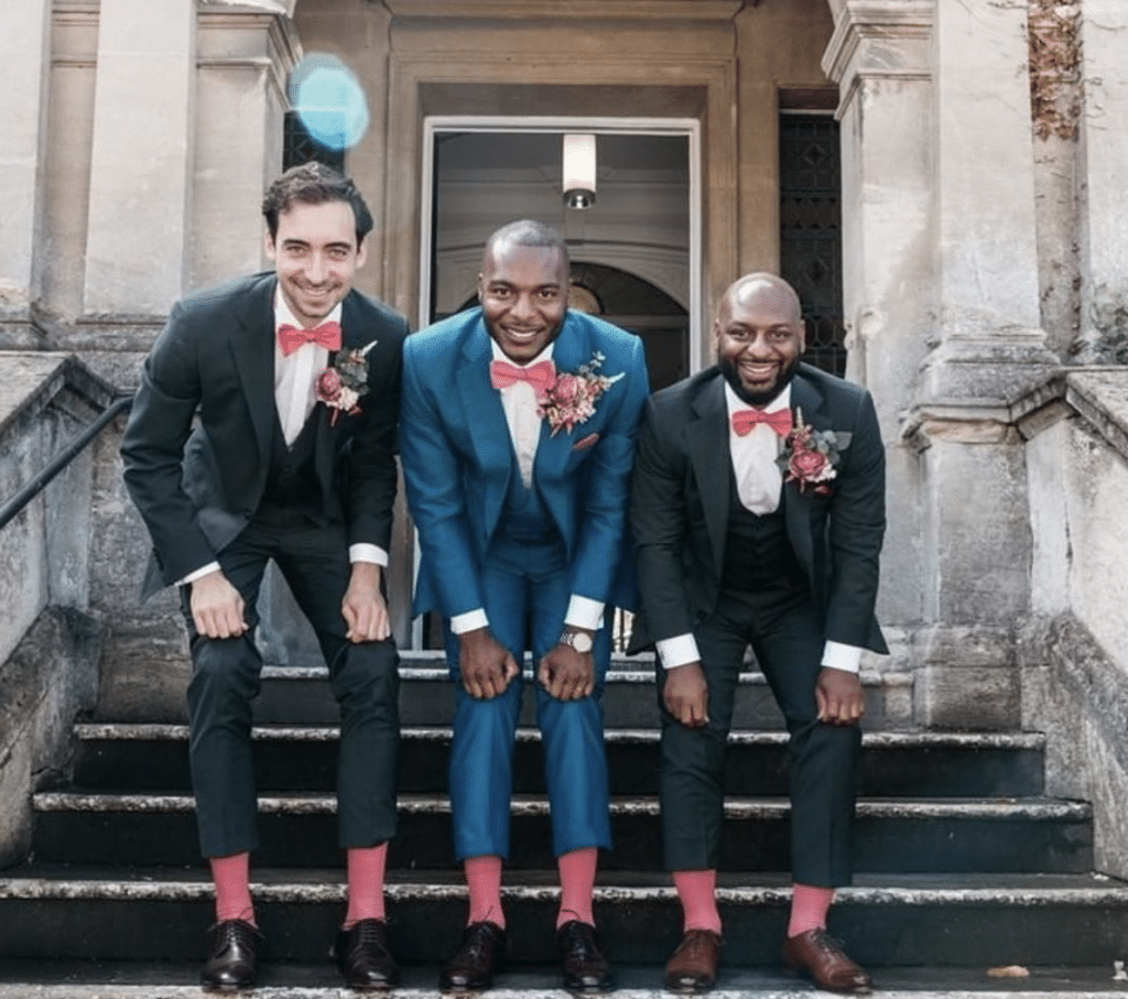 The-Groom-and-his-Best-Men-florals-created-by-Fabulous-Functions UK