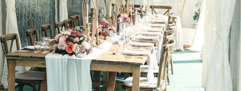 An outdoor setting - Planning a 15-Person Wedding -An intimate Wedding in Covid Times -Fabulous Functions UK -An outdoor setting - Planning a 15-Person Wedding