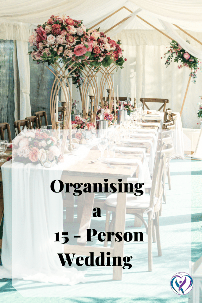 Tips for planning a 15 person wedding - Blog by  wedding designer Fabulous Functions UK