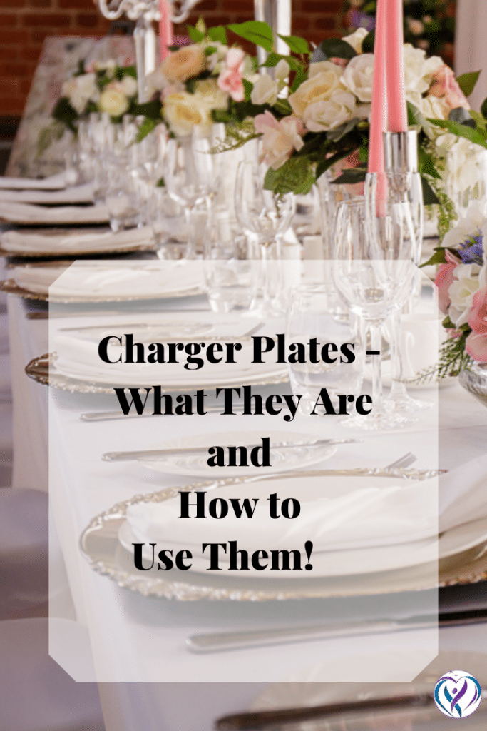Charger Plates- What they are and how to use them.  Blog Post - Fabulous Functions UK