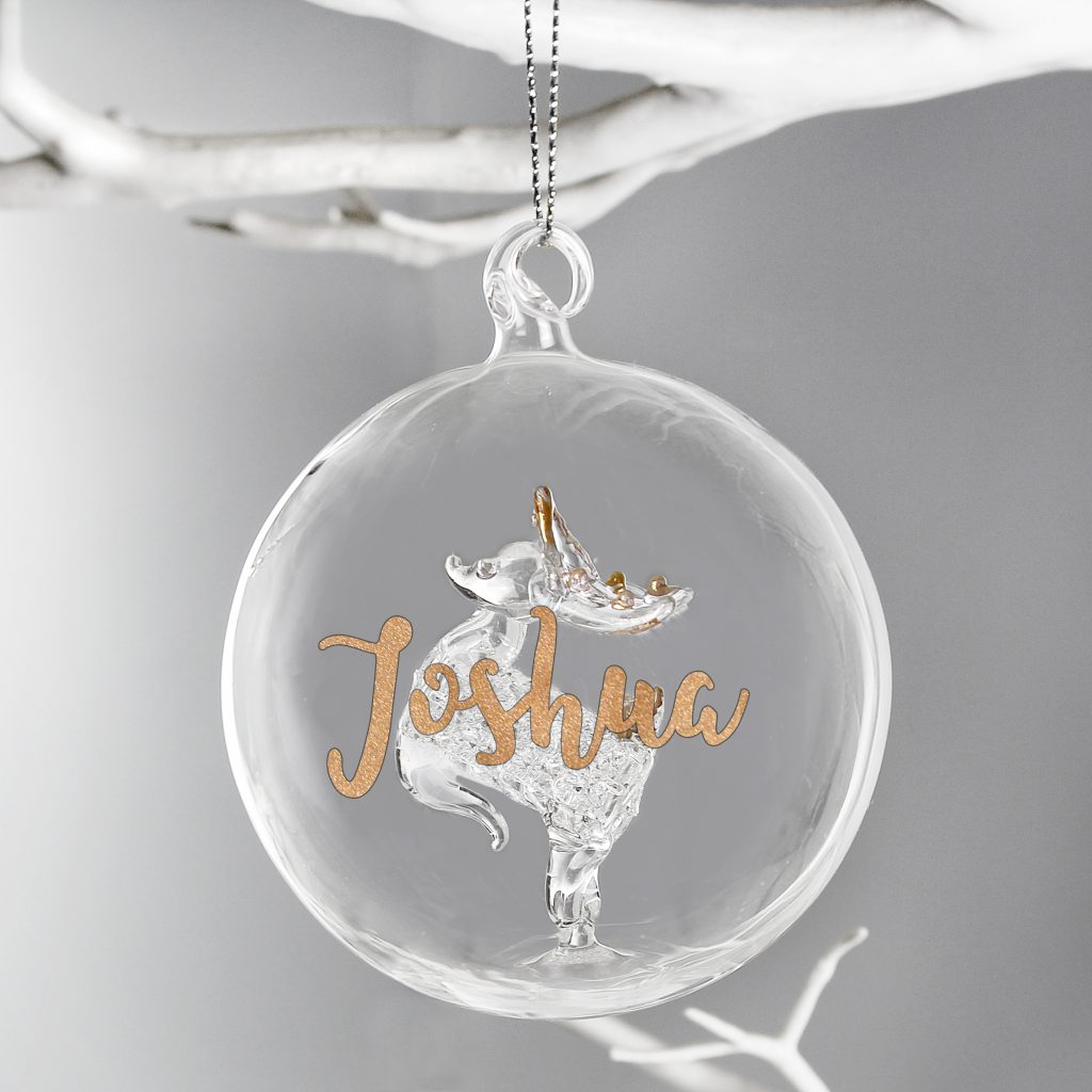 Reindeer Christmas Tree decoration - Fabulous Functions UK