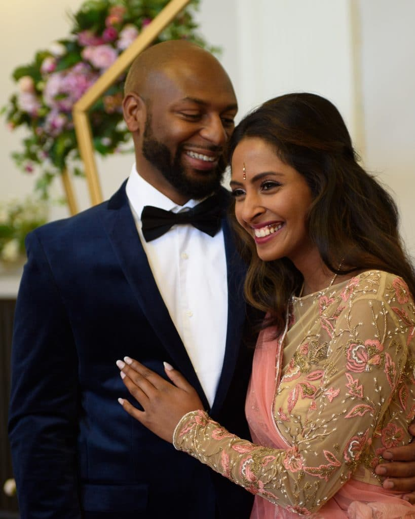 Jamaican Groom and Indian Bride for a Multicultural Wedding Themed Styled Shoot. - Fabulous Functions UK