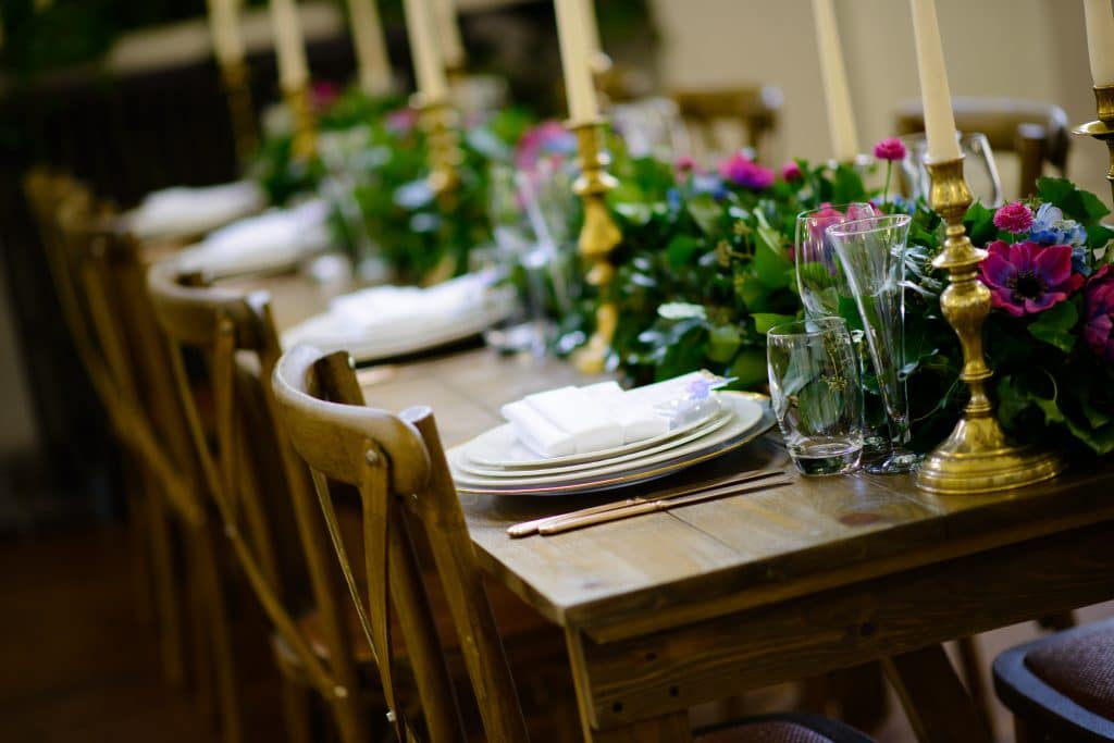 Table Setting for a Jamaican and Indian Fusion Themed wedding photoshoot-Fabulous Functions UK