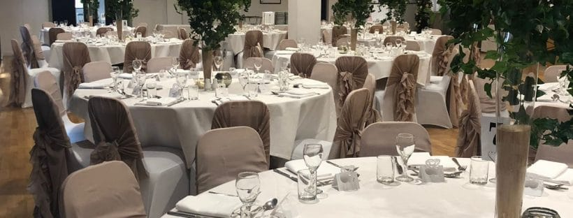 Guest Seating Plan Tips - tables and chairs set for a wedding or party