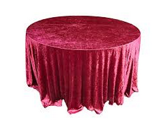 red-crushed-velet-table-cloth-Fabulous-Functions-UK-London-Swindon Swindon
